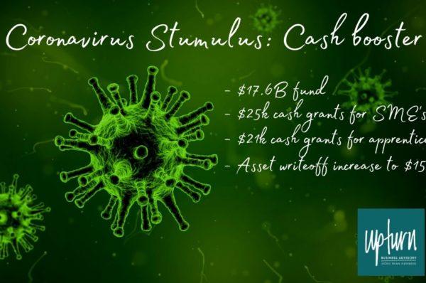Coronavirus stimulus cash booster 2